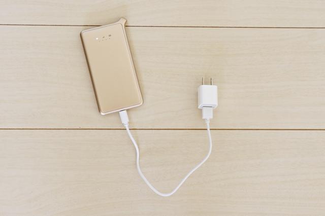どんなときもwifi iphoneの充電器使用