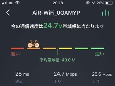 Mugen wifi 20時