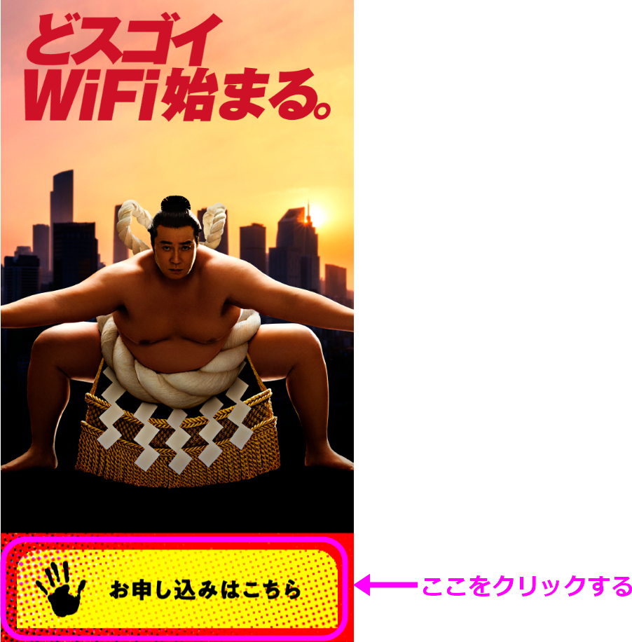 THEWiFi申し込み